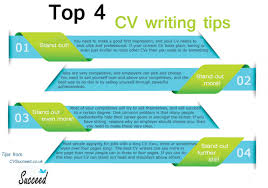 cv tips top 4 cv writing tips visual ly