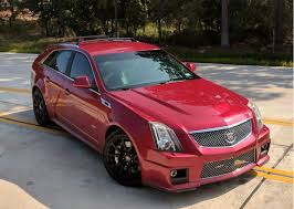 2011 cadillac cts v sport wagon sale 2011 cadillac cts v wagon 6 speed for sale on bat auctions sold