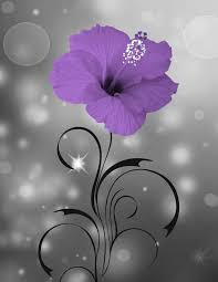 Floral Home Decor Purple Floral Home Decor Modern Bathroom Bedroom Purple Wall Art
