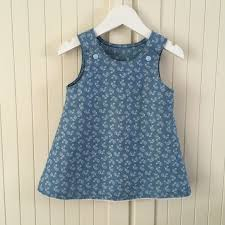 toddlers dress new look pattern the denim company