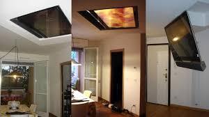 tv a soffitto tv moving mf sollevatore tv motorizzato da soffitto per tv a