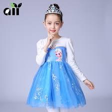 Elsa Halloween Costume Girls Popular Princess Elsa Halloween Costume Buy Cheap Princess Elsa