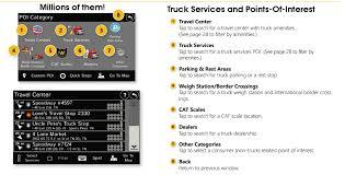 rest area finder rand mcnally gps tnd 740 truck navigator intelliroute trucker