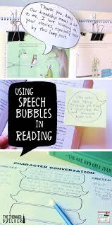 Antonym For Volunteer Using Speech Bubbles In Reading Upper Elementary Snapshots