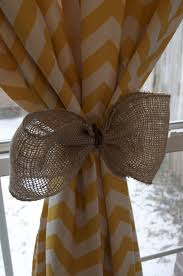 Burlap Ruffle Curtains Decorating Make Your Home More Beautiful With Burlap Curtains For