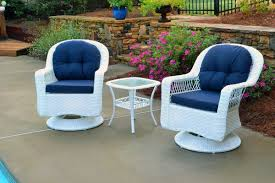 Bistro Sets Outdoor Patio Furniture Biloxi 3pc Wicker Bistro Set Tortuga Outdoor