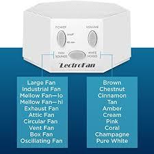 amazon white noise fan adaptive sound technologies asm1007 lectrofan fan sound and white