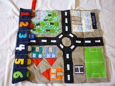 free pattern u0026 tutorial for felt car play mat and house full