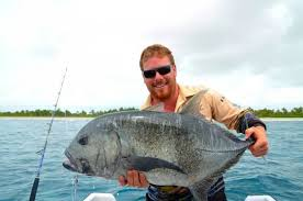 christmas time at kiribati fishing world