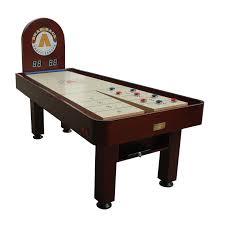 How Long Is A Shuffleboard Table by Snap Back 7 Ft Metro Shuffleboard Table Hayneedle