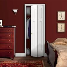 decorating charming folding closet doors for home decoration charming bedroom design with white folding closet doors plus blood red wall and light plus wooden