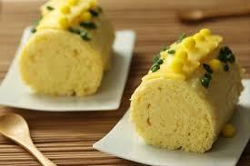 recettes cuisine noel recette de bûche de noël exotique à l ananas et à la mangue facile