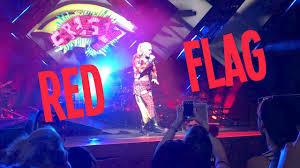 Charlotte Flag Red Flag By Gwen Stefani Live Tiwttfl Tour Charlotte Nc