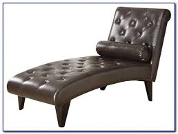 Chaise Lounge Chairs Indoor White Leather Chaise Lounge Chairs Chairs Home Design Ideas
