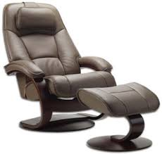 Recliner Ottoman Fjords Admiral Ergonomic Leather C Frame Recliner Chair Ottoman