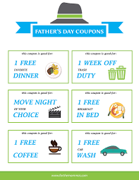 free father u0027s day printable coupons free download ftm