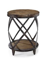 cream round end table end tables distressing optimized distressed white wood end tables