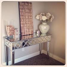 Foyer Console Table And Mirror Mirrored Foyer Table Interior Stabbedinback Foyer Mirrored