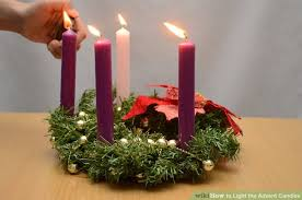 Advent Candle Lighting Readings How To Light The Advent Candles 8 Steps With Pictures Wikihow