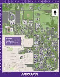 K Map Campus Map Kansas State Univeristy Visitors Guide