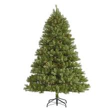 shop northlight 7 ft 6 in pre lit belvedere spruce artificial