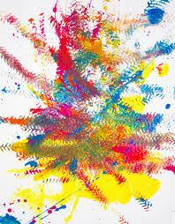 monster truck splatter painting happiness is homemade