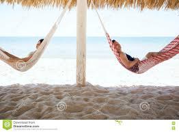 Hammocks For Sleeping Couple Sleeping Beach Hammock Stock Photos Images U0026 Pictures
