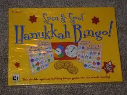 hanukkah bingo spin spot hanukkah bingo toys