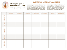 Printable Weight Loss Diet Chart | bgg2wl chart a black girl s guide to weight loss