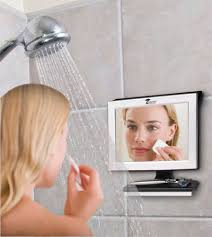 Bathroom Shower Mirror Fantastically Clear Shower Mirrors Fogless Bathroom Mirror