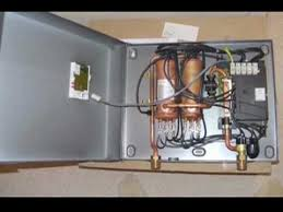 diy electric tankless water heater stiebel eltron youtube
