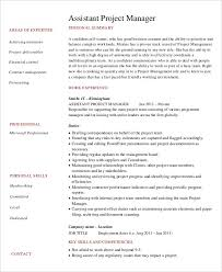 Assistant Project Manager Resume Sample by Professional Manager Resume 49 Free Word Pdf Documents