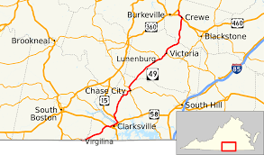 Virginia Map Virginia State Map Virginia State Road Map by Virginia State Route 49 Alchetron The Free Social Encyclopedia