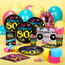 party supplies online 80s party decorations with 80s party table decorations with