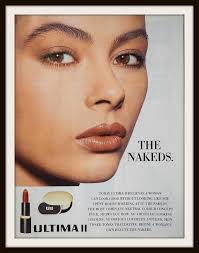 Ultima Ii Makeup 1991 ultima ii the nakeds advertisement vintage cosmetics ad