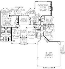 Ranch Floor Plans With Basement by 117 Best House Plans 2 500 3 000 Sq Ft Images On Pinterest