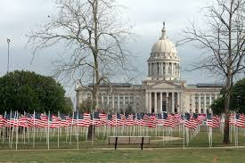 Flag Of Oklahoma Free Images Wave Building Flag Usa America United States