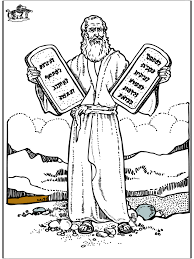 4 Old Testament Bible Coloring Pages Moses