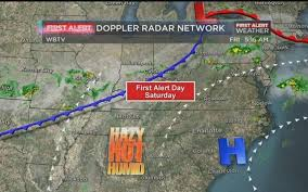 Doppler Radar Map Hottest Day Of The Year Expected Friday First Alert Day Declared