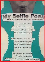 selfie poem take a selfie and the poem is about what they are