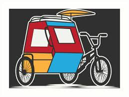philippine tricycle png padyak philippines tricycle art prints by banwa redbubble