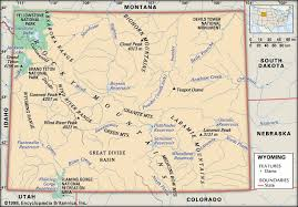 map of wyoming wyoming history geography britannica