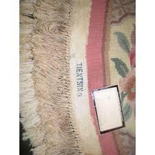 powder room rug round powder room rug 72 x 72 chairish
