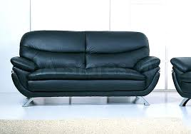 Black Leather Sleeper Sofa Jonus Sofa And Loveseat Set Black Leather 187800 Black Leather