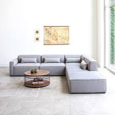 Modern Modular Sofa Mix Modular 4 Pc Sectional Sectionals Gus Modern