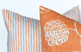 Thanksgiving Pillow Covers Fall Pillow Covers Orange And White Pillow Covers Autumn