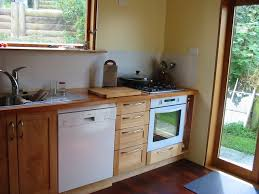 custom made small kitchen solid nz tawa living timber