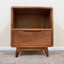 simple mid century modern nightstands how to keep mid century