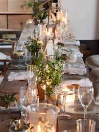 Christmas Table Setting Ideas by Unique Rustic Christmas Table Settings 65 About Remodel Home