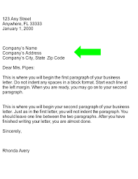 Format Of A Business Card How To Address A Business Letter The Best Letter Sample